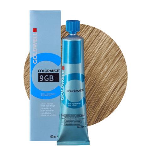 9GB Biondo beige sahara chiarissimo Goldwell Colorance Warm blondes tb 60ml
