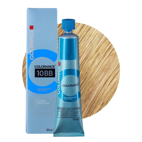 10BB Reallusion beige pesca Goldwell Colorance Warm blondes tb 60ml