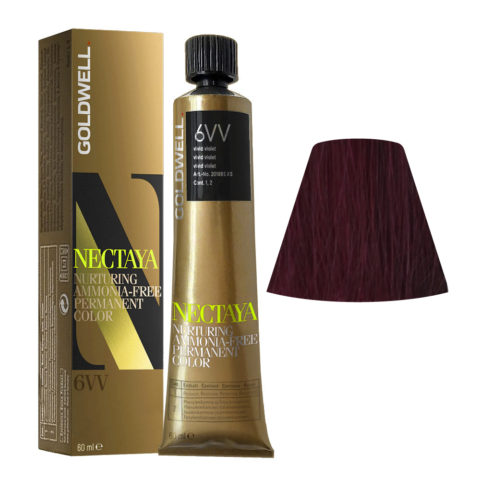 6VV Violetto acceso Goldwell Nectaya Cool reds tb 60ml