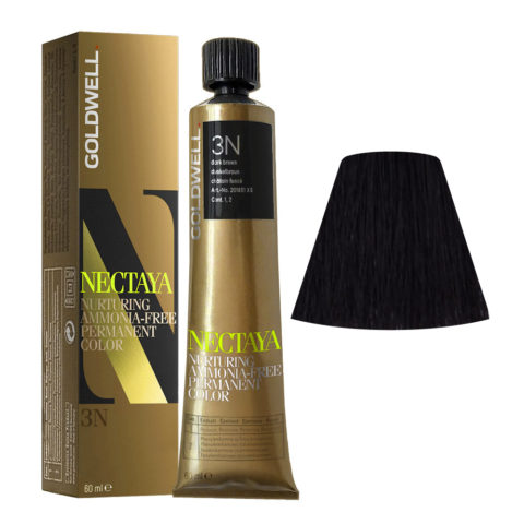 3N Castano scuro naturale Goldwell Nectaya Naturals tb 60ml