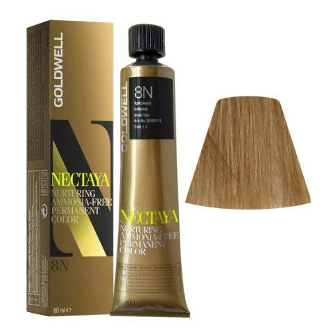 8N Biondo chiaro naturale Goldwell Nectaya Naturals tb 60ml