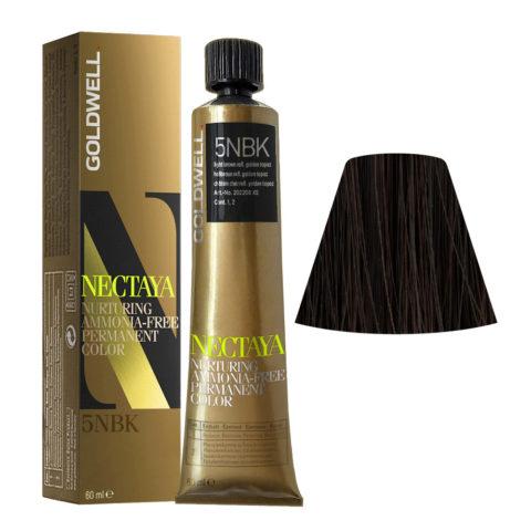 5NBK Castano chiaro topazio dorato Goldwell Nectaya Enriched naturals tb 60ml