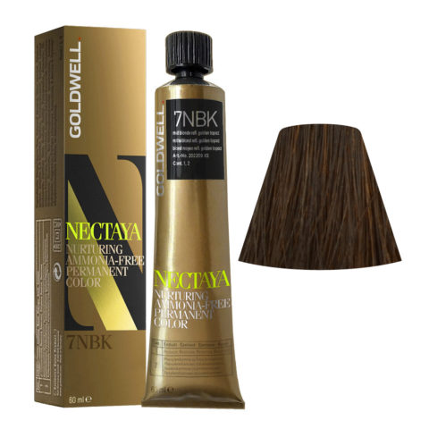 7NBK Biondo medio topazio dorato Goldwell Nectaya Enriched naturals tb 60ml