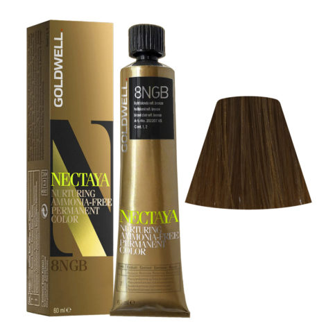 8NGB Biondo chiaro bronzo Goldwell Nectaya Enriched naturals tb 60ml