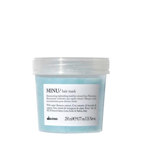 Davines Essential hair care Minu Hair mask 250ml - Maschera illuminante