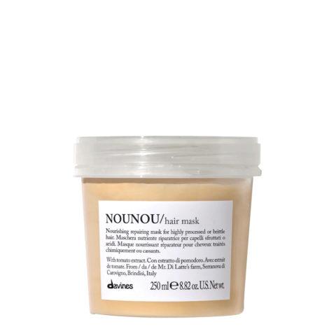 Davines Essential hair care Nounou Pak Hair Mask 250ml - Maschera nutriente e riparatrice