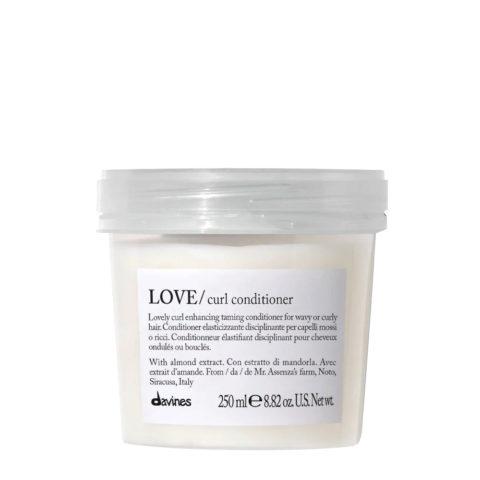 Davines Essential hair care Love Curl Conditioner 250ml - balsamo elasticizzante e disciplinante