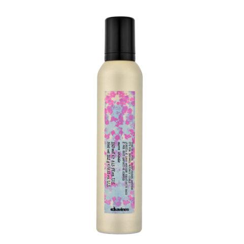 Davines More inside Curl moisturizing mousse 250ml - mousse idratante ricci