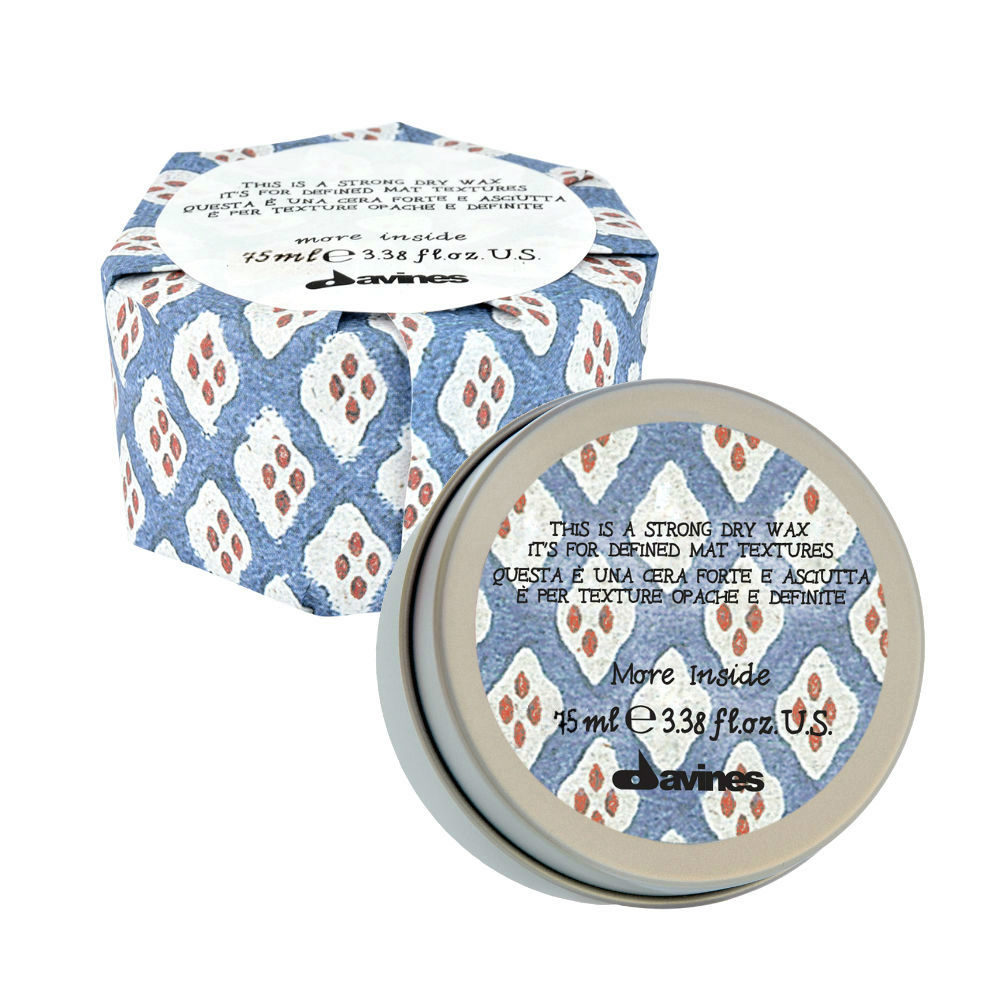 Davines More inside Strong dry wax 75ml - cera forte
