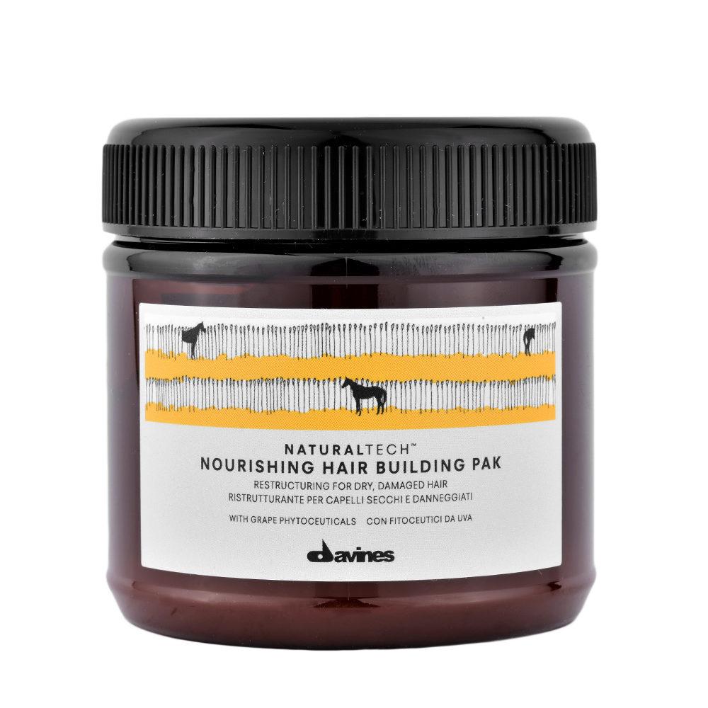 Davines Nourishing Hair Building Pak Hair Mask 250ml - Maschera ristrutturante