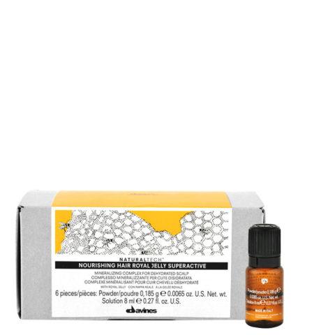 Davines Naturaltech Nourishing Royal Jelly Superactive 6x8ml - trattamento lenitivo