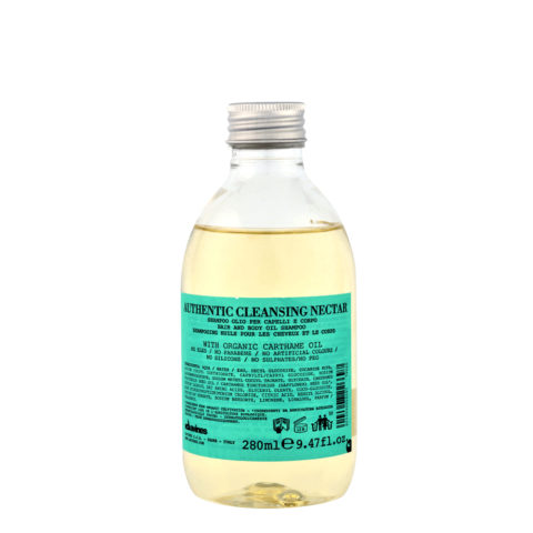 Davines Authentic Cleansing Nectar 280ml - doccia shampoo