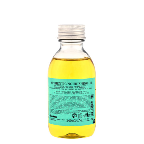 Davines Authentic Nourishing oil 140ml - Olio Nutriente Per Corpo E Capelli