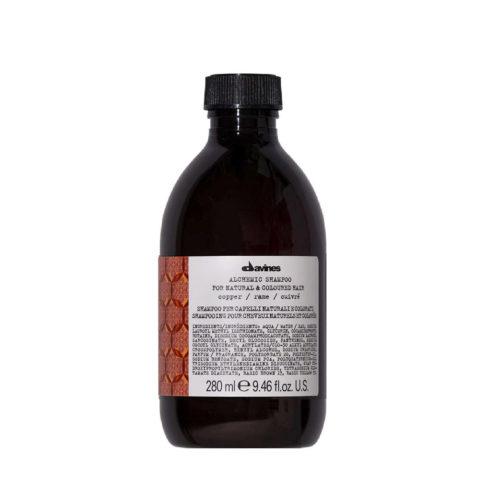 Davines Alchemic Shampoo Copper 280ml - Shampoo colore capelli ramati