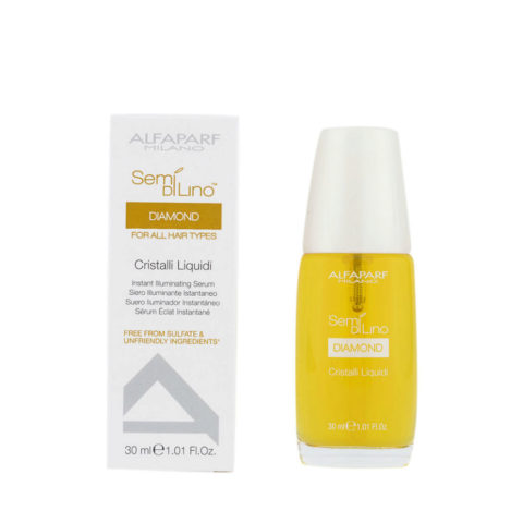 Alfaparf Semi di lino Diamond Cristalli liquidi Illuminating serum 30ml - siero illuminante