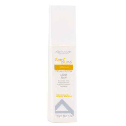 Alfaparf Semi di lino Diamond Cristalli spray Illuminating finish 125ml - spray illuminante