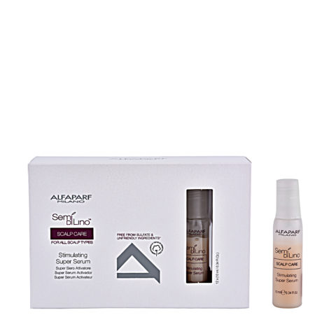 Alfaparf Semi di lino Scalp care Stimulating super serum 12x10ml
