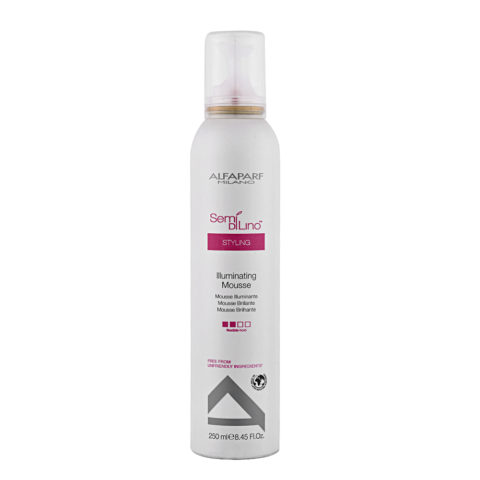 Alfaparf Semi di lino Styling Illuminating mousse 250ml - mousse illuminante