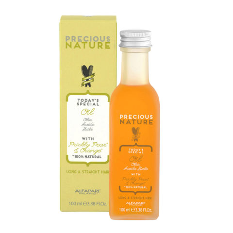 Alfaparf Precious nature Oil with Prickly pear & orange per capelli lunghi & lisci 100ml