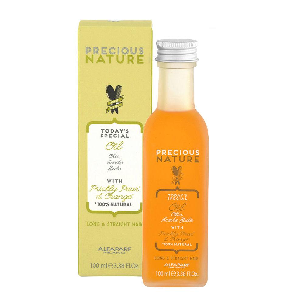 Alfaparf Precious Nature Oil With Prickly Pear & Orange Per Capelli Lunghi & Lisci 100ml