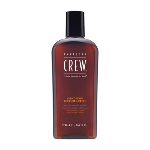American crew styling Light hold Texture lotion 250ml - lozione leggera e brillante