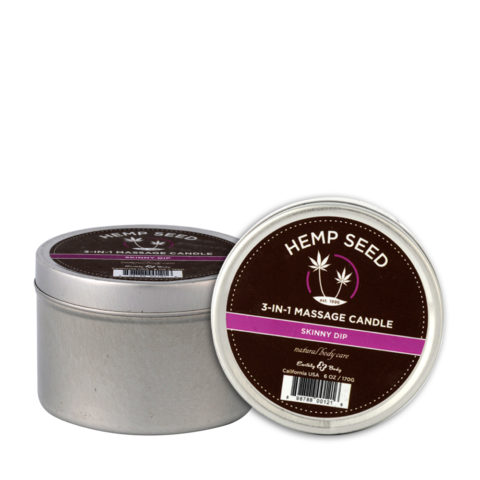Marrakesh Hemp seed Skinny Dip 3 in 1 massage candle 177ml