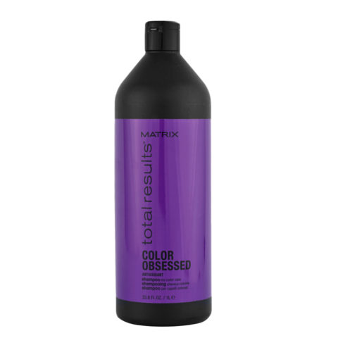 Matrix Total Results Color obsessed Antioxidant Shampoo 1000ml - shampoo capelli colorati