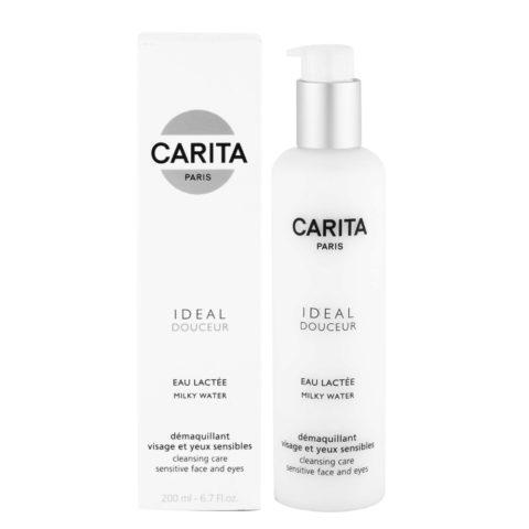 Carita Skincare Ideal douceur Eau lactée 200ml - detergente struccante viso e occhi