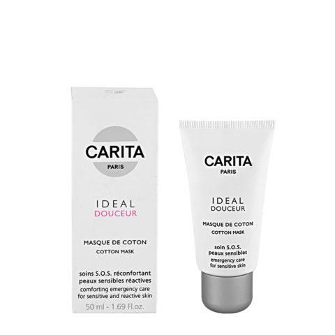 Carita Skincare Ideal douceur Masque de coton 50ml - maschera per pelli sensibili