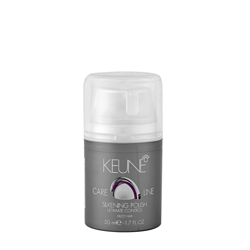 Keune Care line Ultimate control Silkening polish 50ml - crema liquida lucidante e modellante