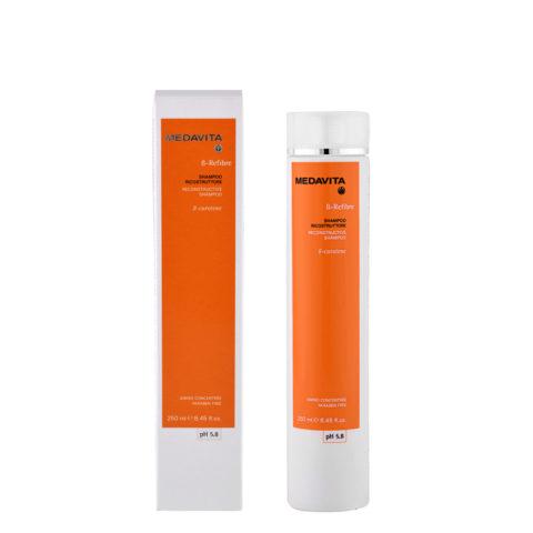 Medavita Lunghezze ß-Refibre Shampoo ricostruttore pH 5.8 250ml