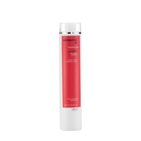Medavita Lunghezze Hairchitecture Shampoo corporizzante pH 5.5  250ml