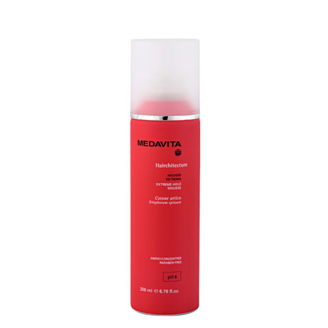 Medavita Lunghezze Hairchitecture Mousse estrema pH 6  200ml