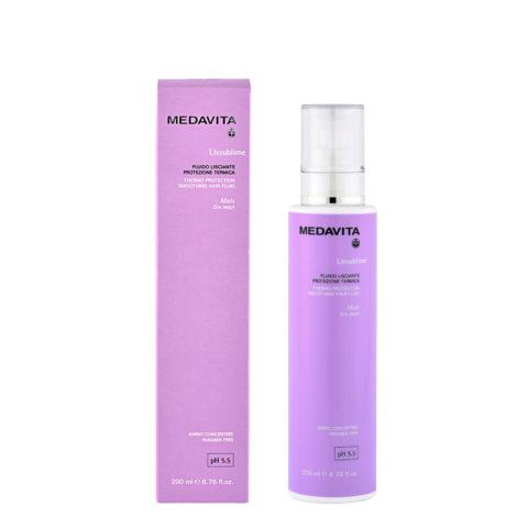 Medavita Lunghezze Lissublime Fluido lisciante protezione termica pH 5.5  200ml