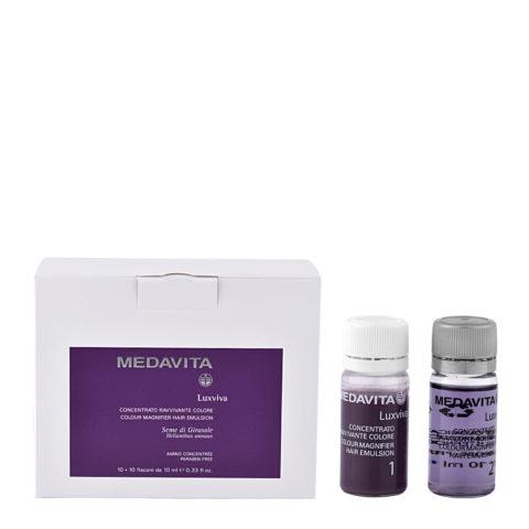 Medavita Lunghezze Luxviva Concentrato ravvivante colore 2x10x10ml