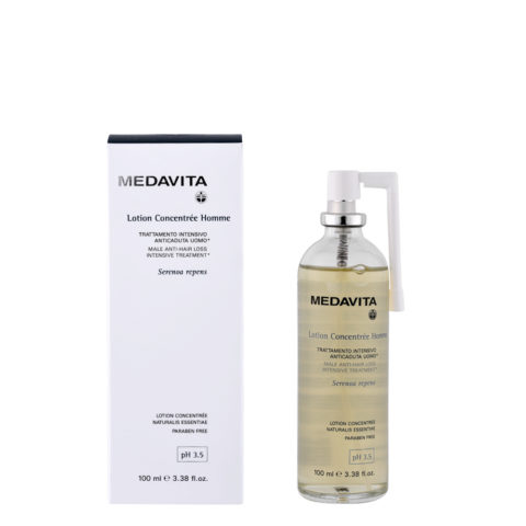 Medavita Cute Lotion concentree homme Trattamento intensivo anticaduta uomo pH 3.5  100ml