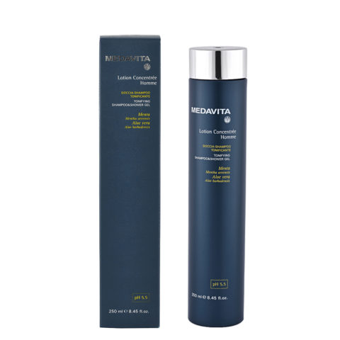 Medavita Cute Lotion concentree homme shave Doccia Shampoo tonificante pH 5.5  250ml