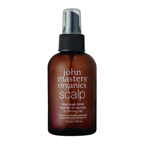 John Masters Organics Haircare Deep Scalp Follicle Treatment & Volumizer 125ml - volumizzante radici