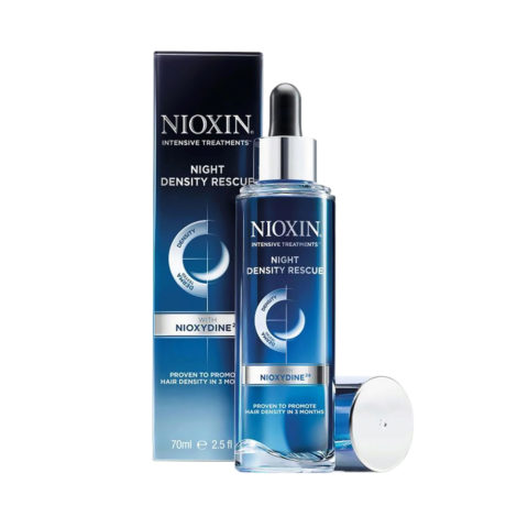 Nioxin Night density rescue 70ml - siero notte Anticaduta