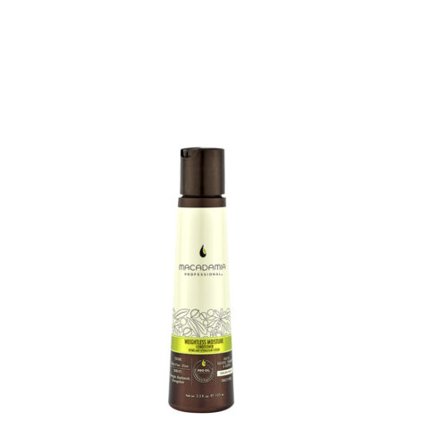 Macadamia Weightless moisture Conditioner 100ml - balsamo idratante leggero