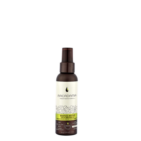 Macadamia Weightless moisture Leave-in conditioning mist 100ml - latte idratante leggero senza risciacquo
