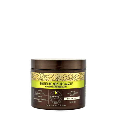 Macadamia Nourishing moisture Masque 236ml - Maschera idratante nutriente per capelli da medi a grossi