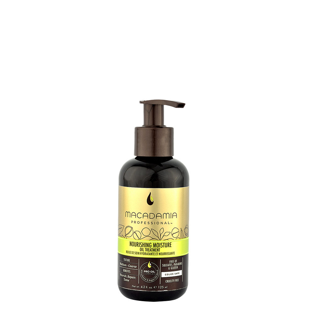 Macadamia Nourishing moisture Oil treatment 125ml - Olio di trattamento idratante e nutriente