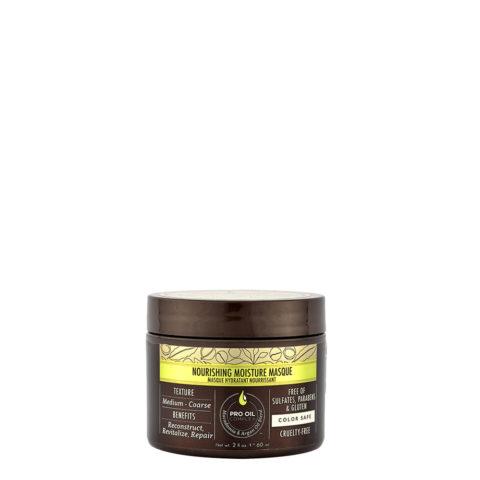 Macadamia Nourishing moisture Masque 60ml - Maschera idratante nutriente per capelli da medi a grossi