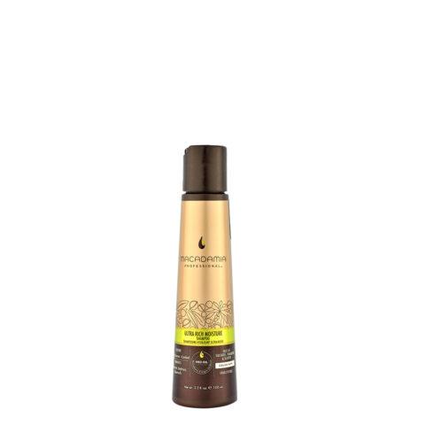 Macadamia Ultra rich moisture Shampoo 100ml - Shampoo idratante ultra ricco
