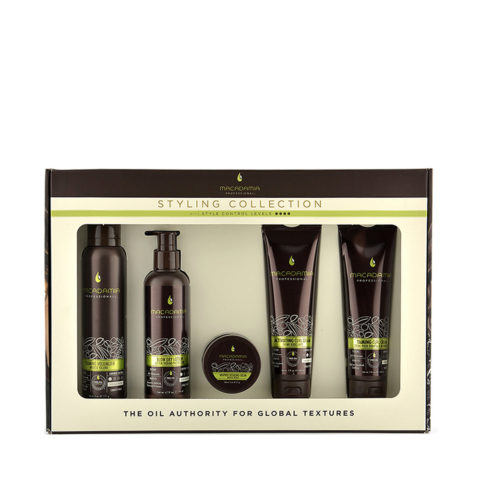 Macadamia Styling collection kit - kit per tutti i tipi di capelli