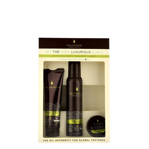 Macadamia Style kit Get the look Luxurious curls - kit ricci definiti