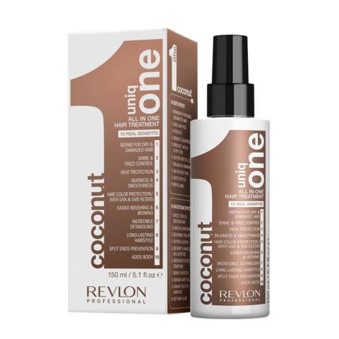 Uniq one All in one Coconut hair treatment Spray 150ml - trattamento 10 in 1 al cocco