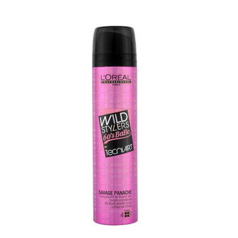 L'Oreal Tecni art Wild stylers 60's Babe Savage panache Dry touch powder spray 250ml - polvere texturizzante
