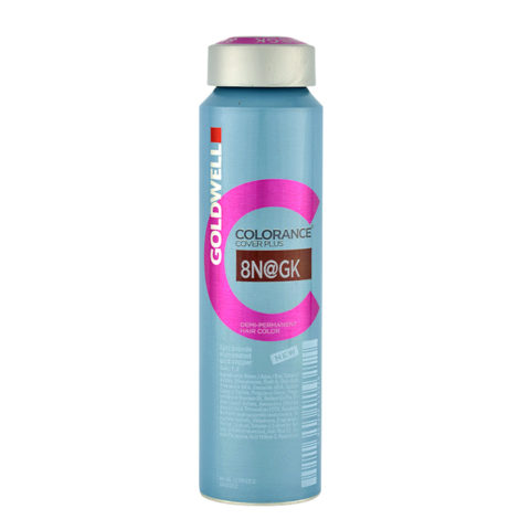8N@GK Biondo chiaro illuminato oro rame Goldwell Colorance Cover plus Elumenated naturals can 120ml
